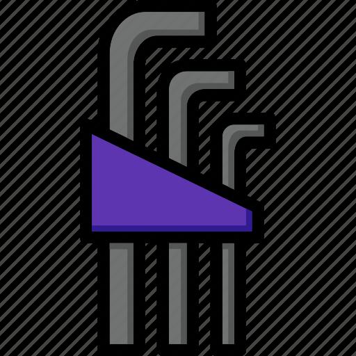 allen, colour, keys, tools, ultra icon