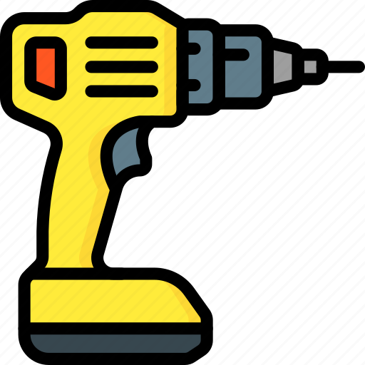 drill, equipment, tool, tools, work icon