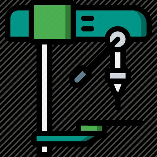drill, equipment, machine, tool, tools, work icon