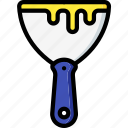 equipment, scraper, tool, tools, work icon