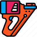 equipment, gun, nail, tool, tools, work icon