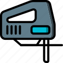 equipment, jigsaw, tool, tools, work icon