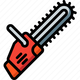 chainsaw, equipment, tool, tools, work icon