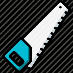 equipment, handsaw, tool, tools, work icon