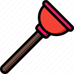 equipment, plunger, tool, tools, work icon
