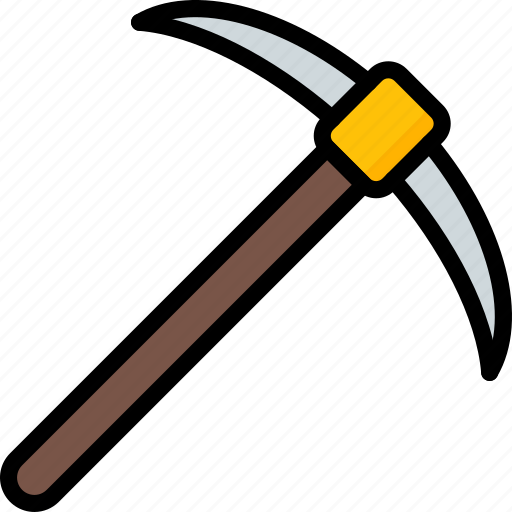 equipment, pickaxe, tool, tools, work icon