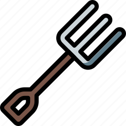 equipment, fork, tool, tools, work icon