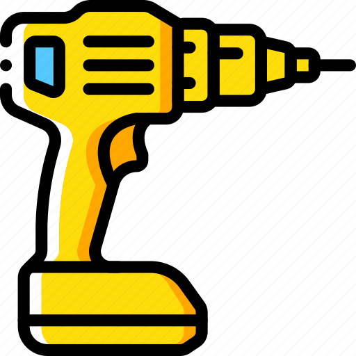 Drill, tool, equipment, tools, work icon - Download on Iconfinder