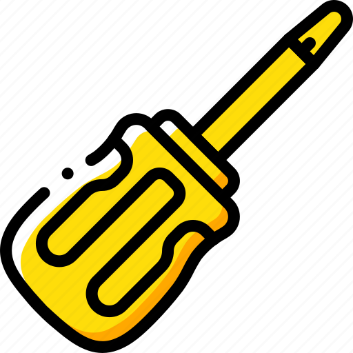 equipment, screwdriver, tool, tools, work icon