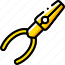 equipment, pliers, tool, tools, work icon