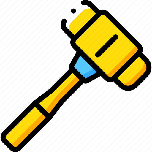 equipment, mallet, tool, tools, work icon