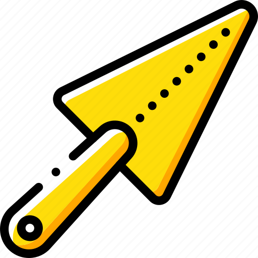 equipment, tool, tools, trowel, work icon