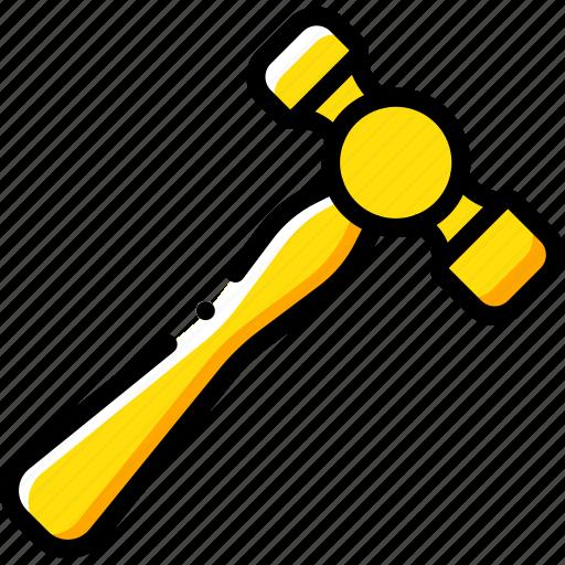 equipment, hammer, tool, tools, work icon