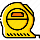 equipment, measure, tape, tool, tools, work icon