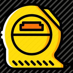 equipment, measure, tape, tool, tools, work icon