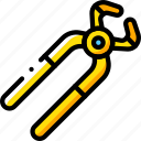 cutting, equipment, pliers, tool, tools, work icon