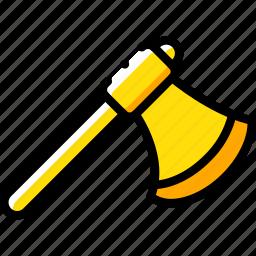 axe, equipment, tool, tools, work icon