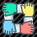 business, cooperation, hands, partnership, team, teamwork