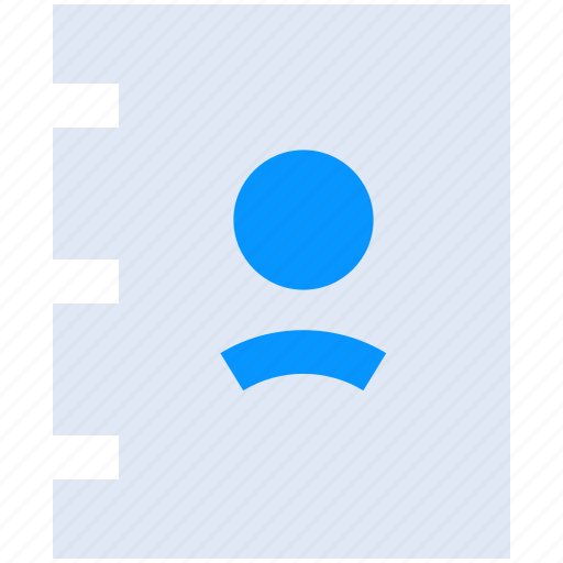 Address, book, contact, contacts, human, phonebook, profile icon - Download on Iconfinder