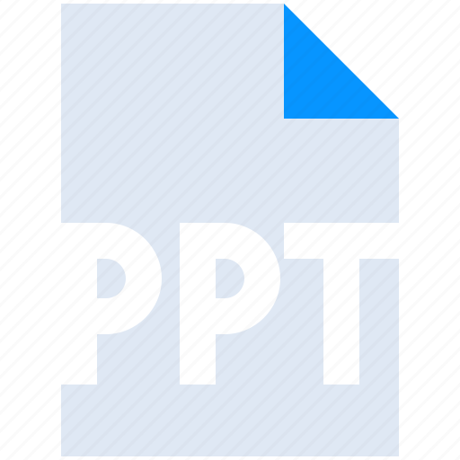Extension, filetype, format, powerpoint, ppt, presentation icon - Download on Iconfinder