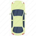 compact car, family auto, family car, hatchback, small car icon
