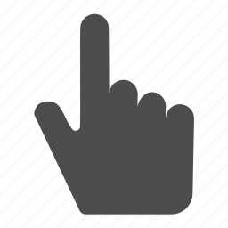 designate, finger, gesture, hand, pointing, select, touch icon