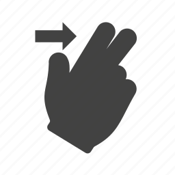 finger, gesture, gestures, hand, scroll, swipe, up icon