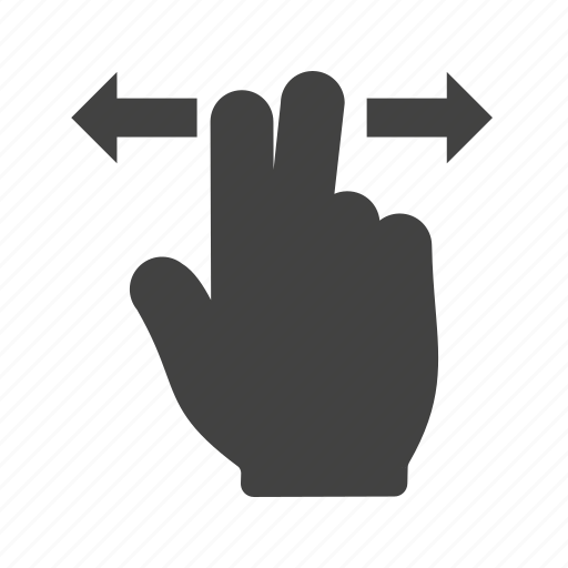 business, hand, horizontal, pad, screen, technology, touch icon