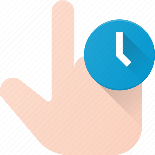 click, finger, gesture, hand, hold, touch icon
