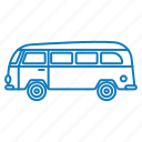 bus, car, travel, trip, vehicle icon