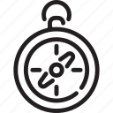 adventure, camping, compass, direction, tourism icon