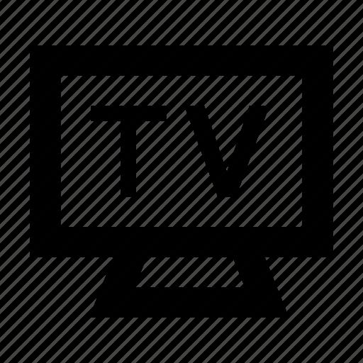 electronics, lcd, led, monitor, tv icon