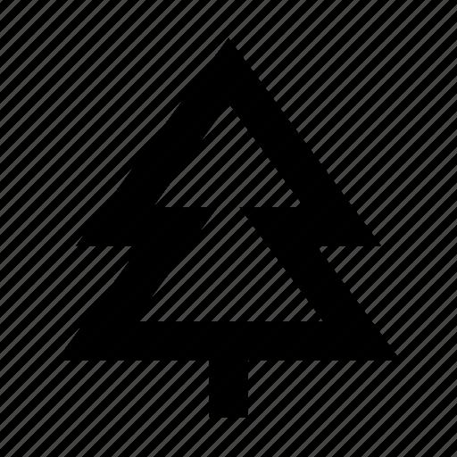conifer tree, fir tree, forest, pine tree, tree icon