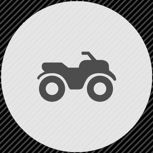 quadrocycle, safari, transportation, vehicle icon