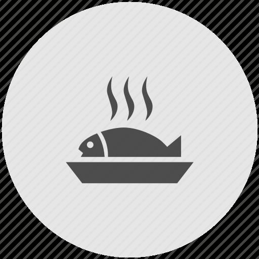 eat, fish, food, kitchen, restaurant, seafood icon