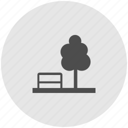 environment, forest, garden, nature, park, tree, woods icon