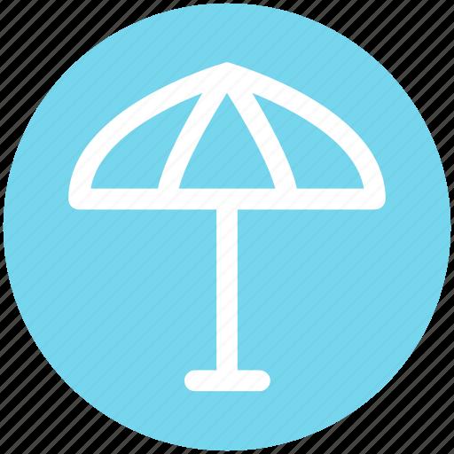 beach, insurance, protection, rain, rainy, summer, umbrella icon