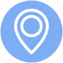 gps, location, location marker, location pin, location pointer, navigation icon