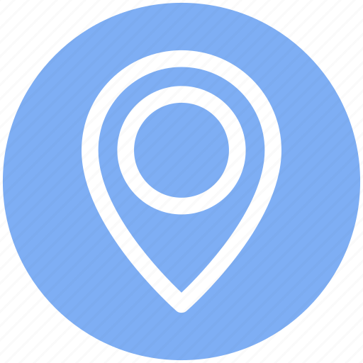 Gps, location, location marker, location pin, location pointer, navigation icon - Download on Iconfinder