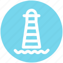 building, light house, marine, place, sea, seamark