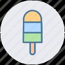 cold, cream, food, ice cream icon