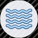 ocean, sea, water, wave icon