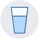 beer, beer glass, drink, drinking, glass, water icon