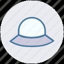 classic, hat, head dress, lady hat, wear, woman hat icon