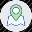 gps, location, location marker, location pin, location pointer, navigation icon