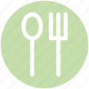 .svg, dining, flatware, fork, spoon, tableware