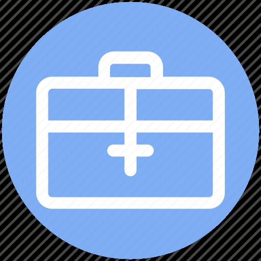 .svg, bag, brief, brief case, business, money, office bag icon