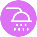 .svg, bathroom, shower, wash, washroom, water icon
