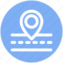 .svg, map, navigation, road, road map icon