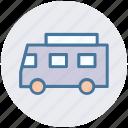 delivery van, school van, transport, van, vehicle